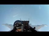 [Летная Школа] Полет на F-18, снято с GoPro.